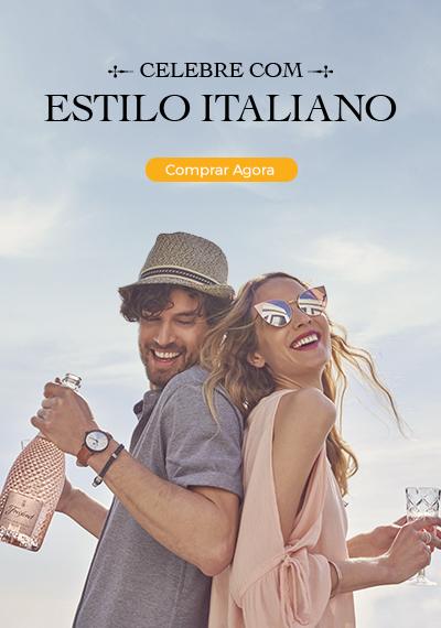 Celebre com estilo italiano